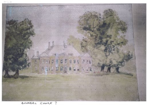 Painting of Scruton Hall