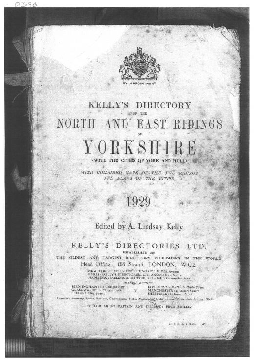 Yorkshire Directory